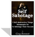 Self Sabotage Cover